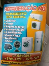 Refrigeração mg