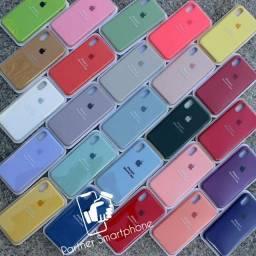 Entrega Imediata Capa case Aveludada Apple iPhone 7/ 8 X 11 e Todos os Modelos Original