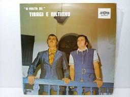 LP Vinil Tibagi e Niltinho - A volta