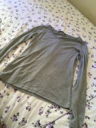 Blusa de manga comprida tamanho p