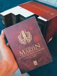 Game of Thrones - Incrível pack de livros de colecionador