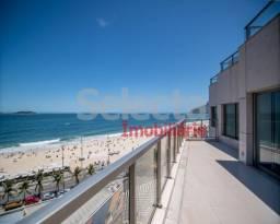 Cobertura nova de 275 m², juntinho da Av. Vieira Souto, em andar bem alto, com vista panor