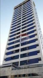 Apartamento 03 qtos, 02 suítes com vista para o mar