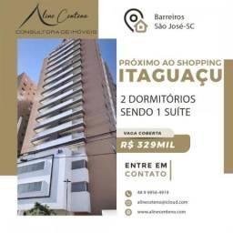 Apartamento para Venda em São José, Barreiros, 2 dormitórios, 1 suíte, 1 banheiro, 1 vaga