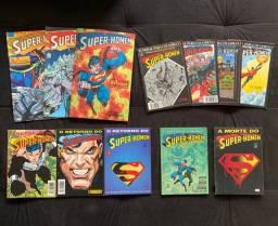 HQs A Morte do Super-Homem Coleção Completa