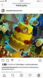 Vendo bolo falso tema bela e a fera