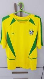 Camisa Brasil 2002