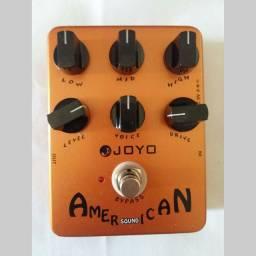 Pedal Joyo American Sound Simulador Fender Preamp Gabinete
