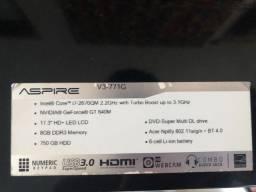 Notebook acer aspire V3-771G