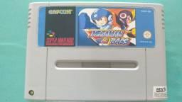 Megaman & Bass cartucho repro jogo Super Nintendo