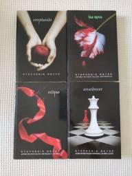 Livros saga Crepúsculo completo