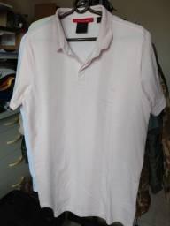 Camiseta polo salmão slim fit G