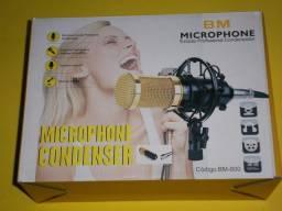 Kit microfone condensador BM 800 , produto novo com 3 meses de garantia
