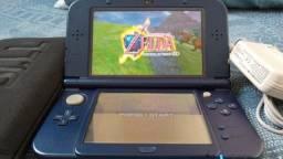 New Nintendo 3DS Xl Galaxy Desbloqueado + Carregador BiVolt + Capa Neoprene + Micro SD32GB