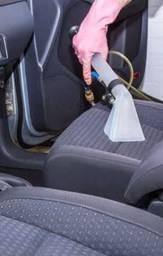 Lavagem de carro a seco estofados automotivos