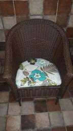 Cadeira Fibra Sintetica