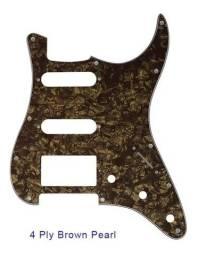 escudo strato(novo) perloado para humbucker (troco)