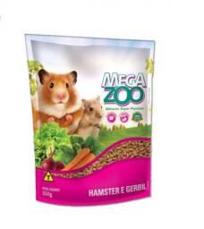 Ração MegaZoo Hamster e Gerbil 350g