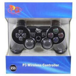Controle Play Game Para Ps3 Preto