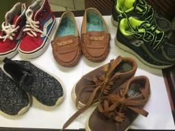 Sapato infantil masculino numeração 21