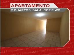 Título do anúncio: Daher Aluga: Apartamento 2 Qtos - Quintino - Cód CDQ 250