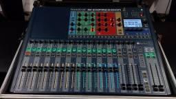 Mesa de som Digital Soundcraft Si Expression 2 com hardcase