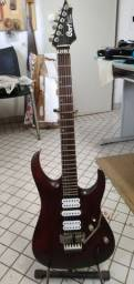 Guitarra Cort Viva Gold II, com Malagoli HB6.