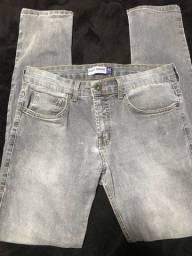 Calça jeans masculina Clock House