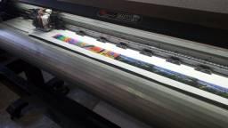Plloter de impressão 1.80 de boca cabeça dx5