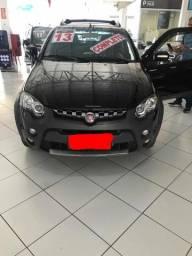 Facilitamos Aprovação- Fiat Strada 1.8 16v Adventure Cab. Dupla Flex 2p