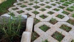 Pisograma, piso de concreto pré-moldado