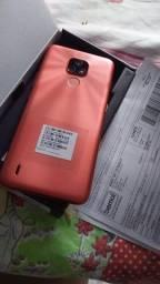 Celular Motorola com uma semana de uso troco por um do meu interesse