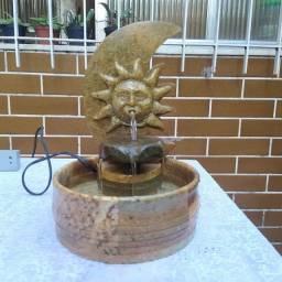 Fonte Sol e Lua em pedra sabão