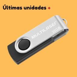 ?Pendrive Multilaser Twist PD589 32GB 2.0 preto