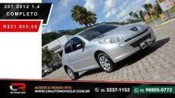 PEUGEOT 207 2011/2012 1.4 XR 8V FLEX 4P MANUAL