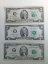 Nota 2 dolares