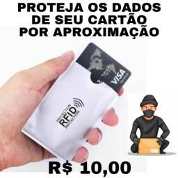 Proteja Seu Dinheiro! Porta Cartões Com Proteção RFID (Para Pagamento Por Aproximação)