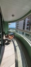 M*Apartamento no canto do forte, 2 Dormitórios (1 suíte), Vista Mar