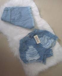 Promoção shorts e saia jeans