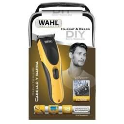 Máquina De Corte Whal Haircut & Beard Diy Yellow Bivolt (Entregamos)