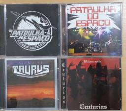CDs Hard Metal BR anos 80 novos