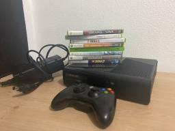 Xbox 360 + 8 jogos originais