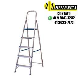 Escada Alumínio Alumasa 5 Degraus