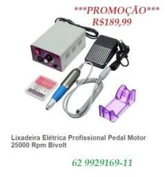 Lixa Eletrica Motor para Manicure Lina 25000 RPM