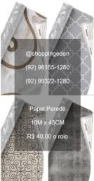 Acorda Manaus, promoção de papel parede 10 metros