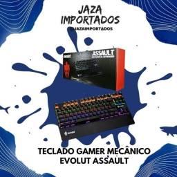 Teclado Gamer Evolut Assault