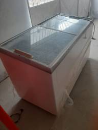 Freezer metalfrio vidro temperado