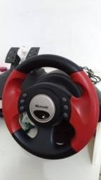 Volante e pedal so pra PC