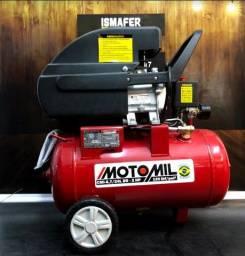 Compressor de Ar 24 Litros Moto Mil