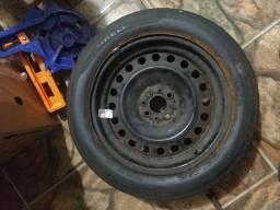 Aro 16 com pneu 205 55 R16